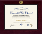 Century Veterinary Certificate Frame in Cordova