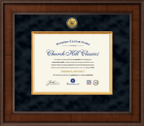 Presidential Pharmacy Certificate Frame in Madison