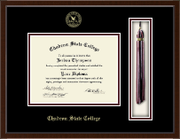 Chadron State College Tassel Edition Diploma Frame in Delta