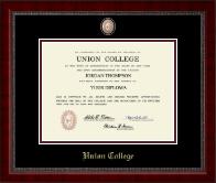 Masterpiece Medallion Diploma Frame in Sutton
