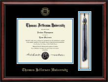 Thomas Jefferson University Tassel Edition Diploma Frame in Southport