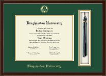 Binghamton University - State of New York Tassel Edition Diploma Frame in Delta
