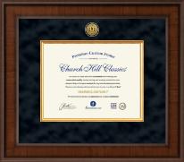 Presidential Academic Certificate Frame in Madison
