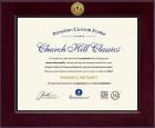 Century Academic Certificate Frame in Cordova