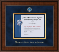 Presidential Masterpiece Certificate Frame in Madison