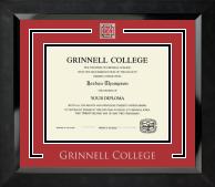 Grinnell College Spirit Medallion Diploma Frame in Eclipse