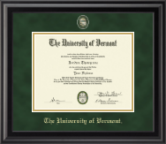 Masterpiece Medallion Diploma Frame in Midnight