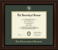 Masterpiece Medallion Diploma Frame in Lenox