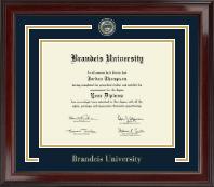 Brandeis University Showcase Edition Diploma Frame in Encore
