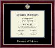 Masterpiece Medallion Diploma Frame in Gallery