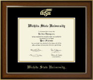 Gold Embossed Diploma Frame in Westwood