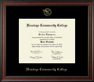 "8""x10""- Gold Embossed Diploma Frame in Studio"