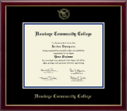 "8""x10""-Gold Embossed Diploma Frame in Galleria"