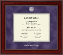 Amherst College Presidential Masterpiece Diploma Frame in Jefferson