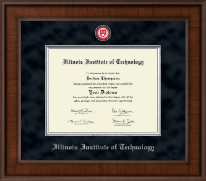 Illinois Institute of Technology Presidential Masterpiece Diploma Frame in Madison