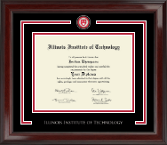 Illinois Institute of Technology Showcase Edition Diploma Frame in Encore