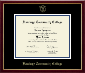 "8.5""x11""- Gold Embossed Diploma Frame in Galleria"