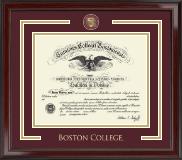 Boston College Showcase Edition Diploma Frame in Encore