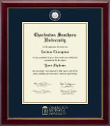 Charleston Southern University Masterpiece Medallion Diploma Frame in Gallery