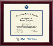 Dimensions Diploma Frame in Gallery Silver