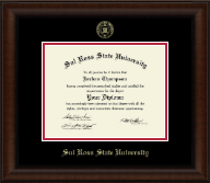 Gold Embossed Diploma Frame in Lenox