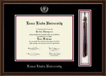 Loma Linda University Tassel Edition Diploma Frame in Delta