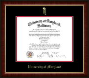 Gold Embossed Diploma Frame in Murano