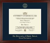 Gold Embossed Diploma Frame in Sierra