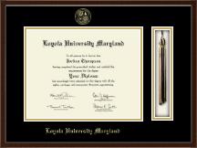 Loyola University Maryland Tassel Edition Diploma Frame in Delta