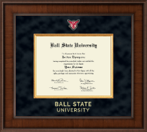 Ball State University Presidential Masterpiece Diploma Frame in Madison