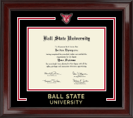 Ball State University Showcase Edition Diploma Frame in Encore