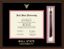 Ball State University Tassel Edition Diploma Frame in Delta