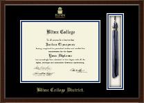Blinn College Tassel Edition Diploma Frame in Delta