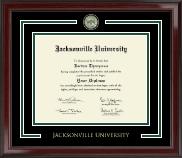Jacksonville University Showcase Edition Diploma Frame in Encore