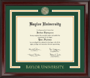 Baylor University Showcase Edition Diploma Frame in Encore