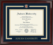 Auburn University Showcase Edition Diploma Frame in Encore