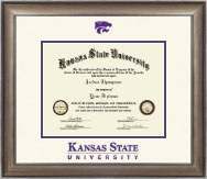 Kansas State University Dimensions Diploma Frame in Easton