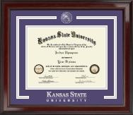 Kansas State University Showcase Edition Diploma Frame in Encore