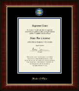 Masterpiece Medallion Certificate Frame in Murano