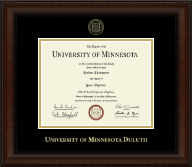 Gold Embossed Diploma Frame in Lenox