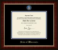 Masterpiece Medallion Certificate Frame in Murano