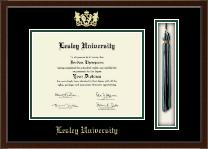 Lesley University Tassel Edition Diploma Frame in Delta