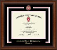 Showcase Edition Diploma Frame in Austin