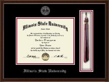 Illinois State University Tassel Edition Diploma Frame in Delta