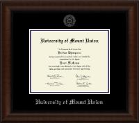 Silver Embossed Diploma Frame in Lenox