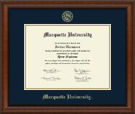 Gold Embossed Diploma Frame in Austin