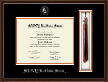 Buffalo State College Tassel Edition Diploma Frame in Delta