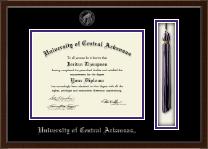 University of Central Arkansas Tassel Edition Diploma Frame in Delta