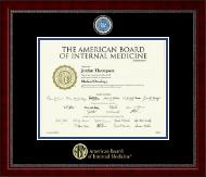 Masterpiece Medallion Certificate Frame in Sutton