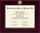 Century Gold Engraved Diploma Frame in Cordova